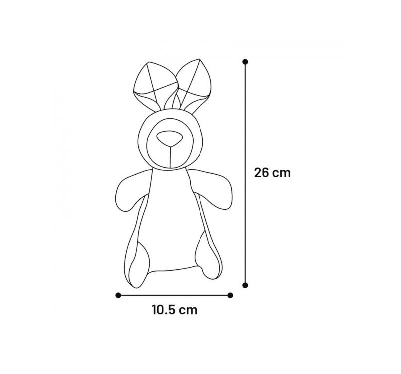 """Игрушка для собак """"Vinta Rabbit"""" 26см"""