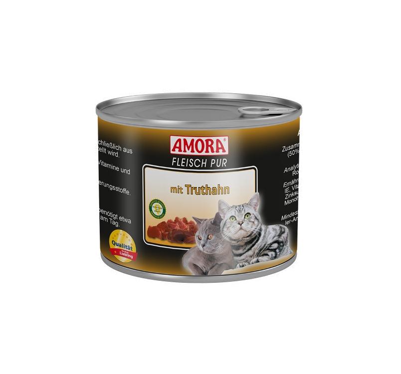 Amora Canned Cat Food (Turkey) 200g