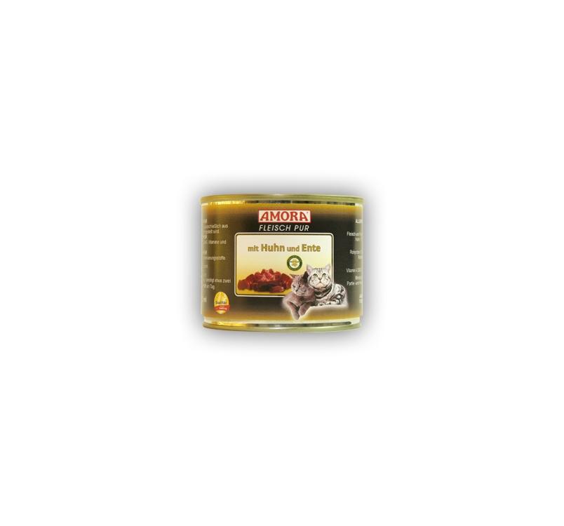 Amora Huhn und Ente Kassikonserv (Kana- ja pardilihaga) 200g