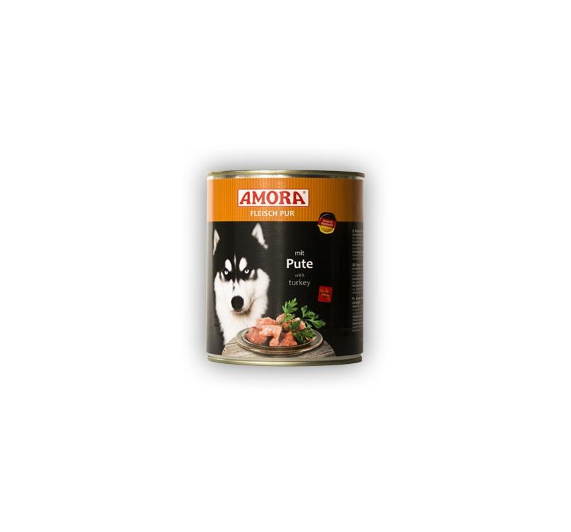Amora Canned Dog Food (Turkey) 800g
