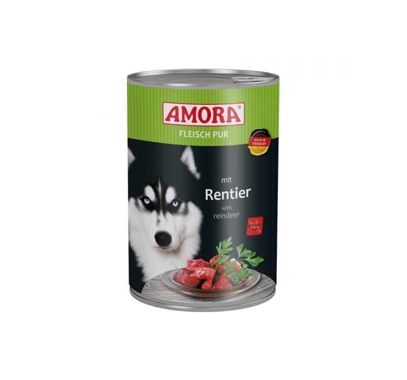 Amora Canned Dog Food (Reindeer) 400g