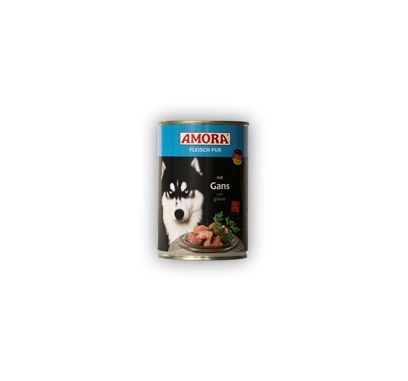 Amora консервы для собак - гусь 400г