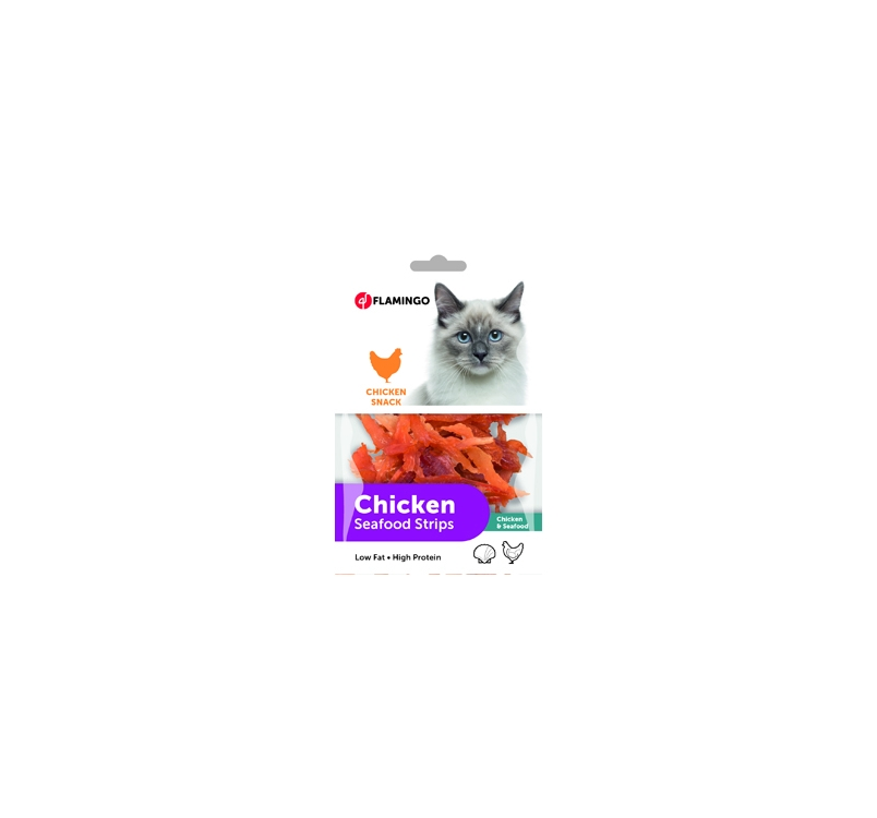 куриные лакомства для кошек 85г
