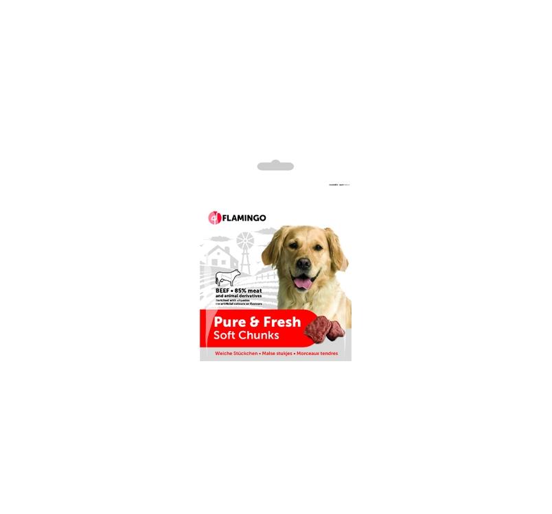 Pure & Fresh Soft Chunks Beef 75g