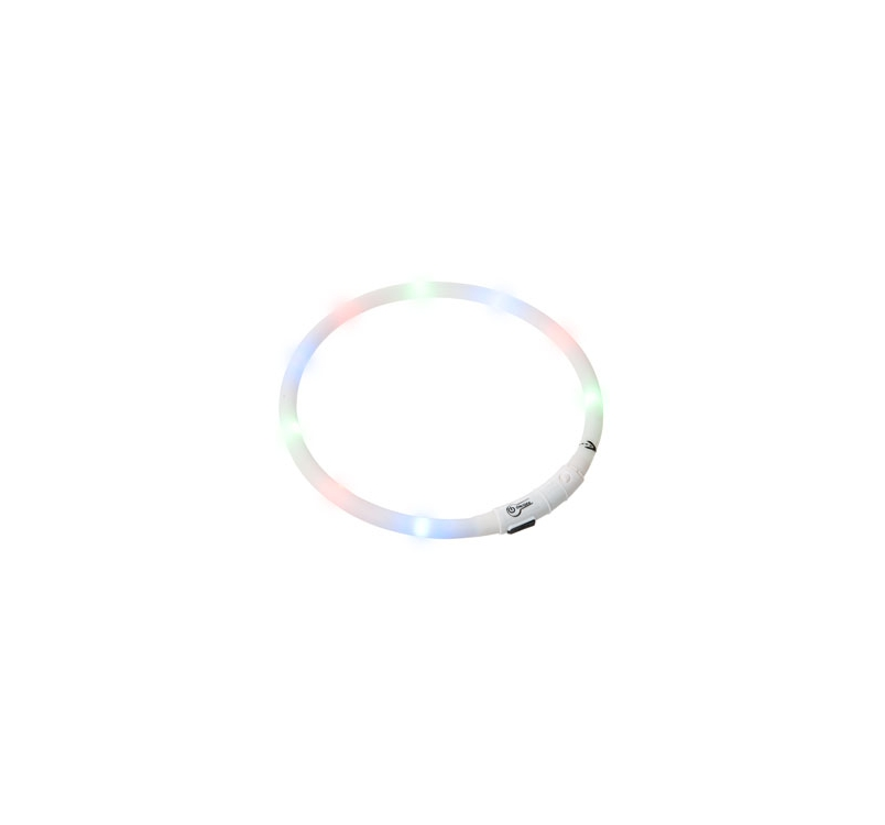LED Kaelarihm Visio Light Valge 20-70cm