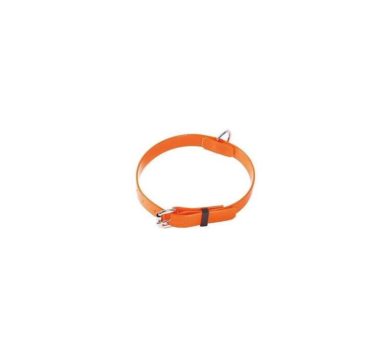 Klin Kaelarihm Biothane Oranž 20mm x 30-40cm