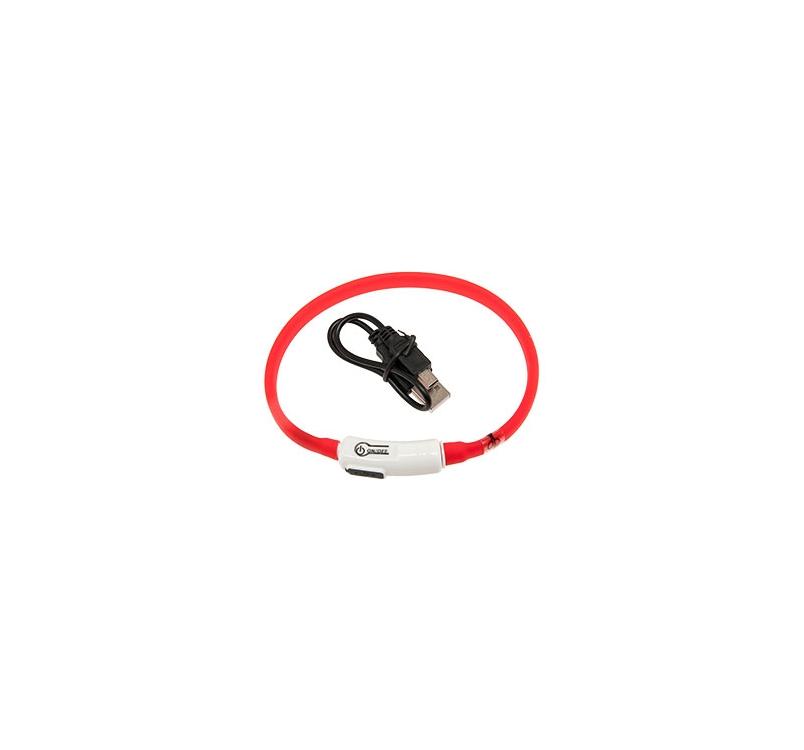 LED Kaelarihm Visio Light Punane 20-35cm