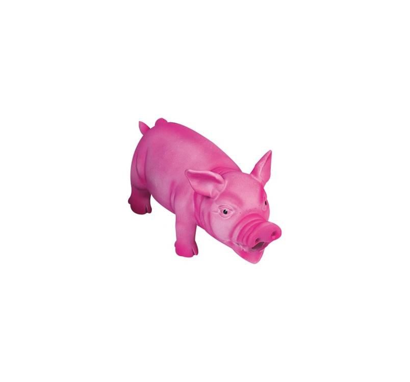 Pink Pig Toy 22x10cm
