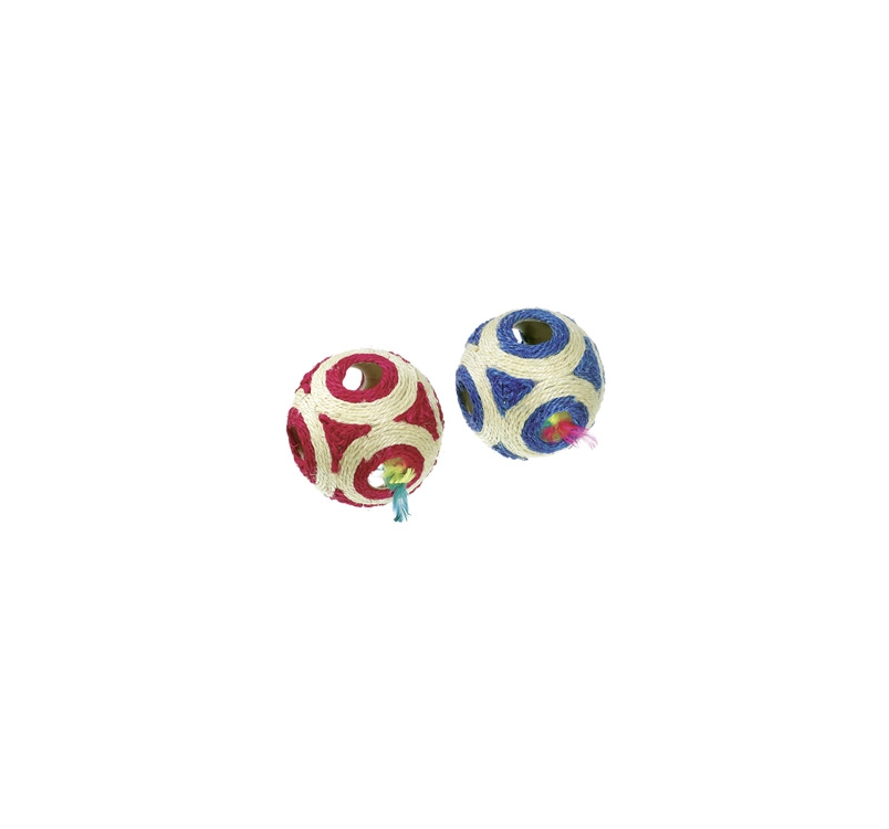 Cat Toy Rattle Ball 11cm