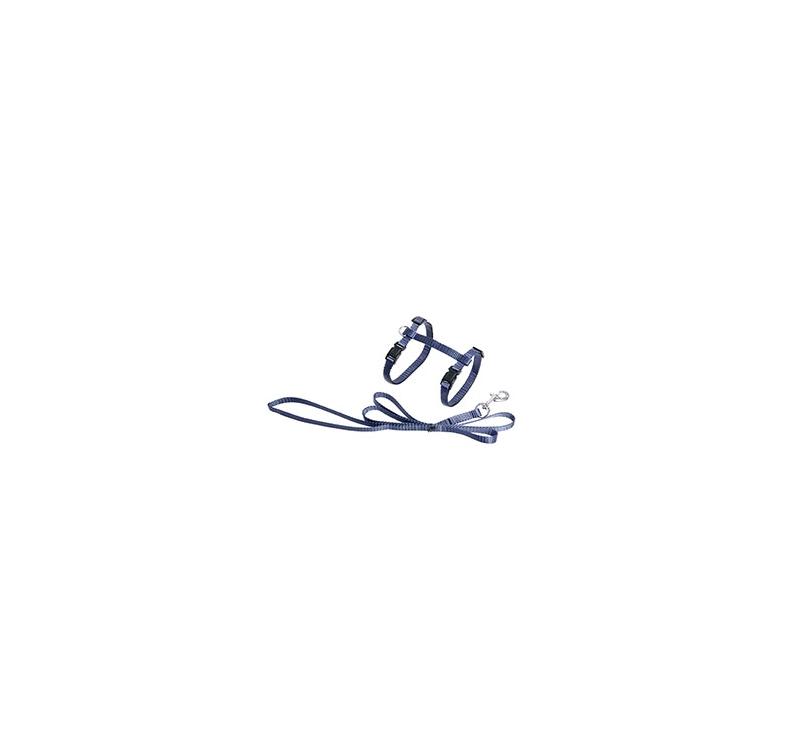 Hallikas-Sinised Traksid Kassile + Jalutusrihm 110cm