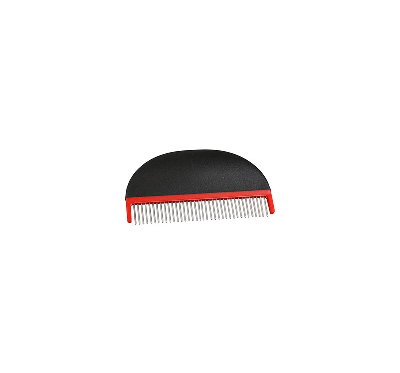 Grooming Comb with Rotating Teeth 13cm