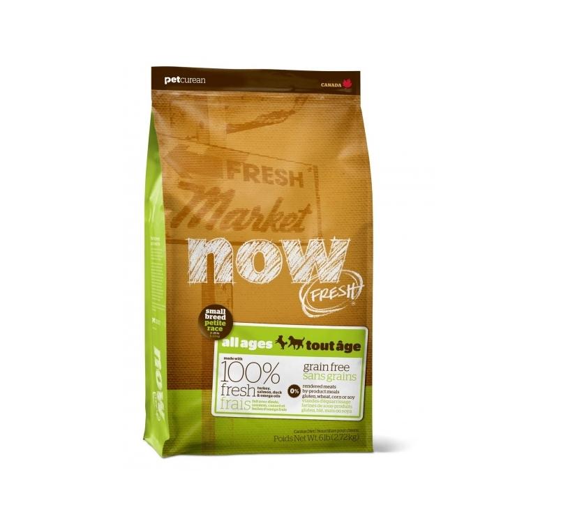 NOW Fresh Väikest Tõugu Koera Teraviljavaba Täissööt 2,72kg