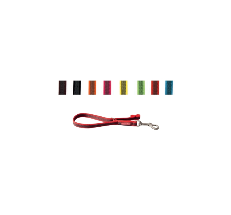 Rubber Short Handling Leash 20mm x 25-50cm