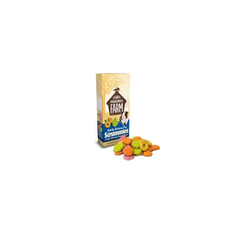 Supreme Gerty Scrummies Õuna, Maasika, Aprikoosiga & Banaaniga 120g