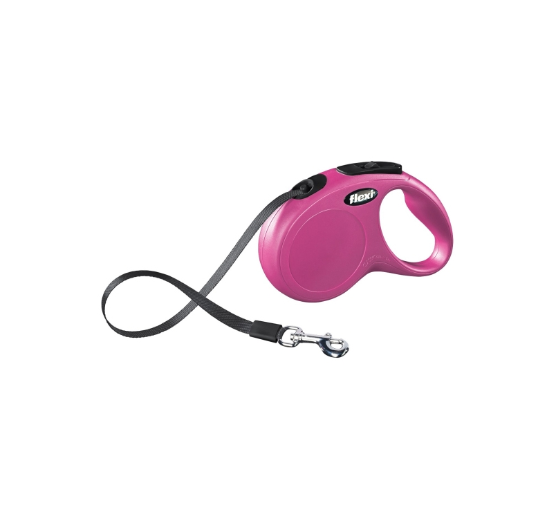 Flexi New Classic S Pink 5m Tape
