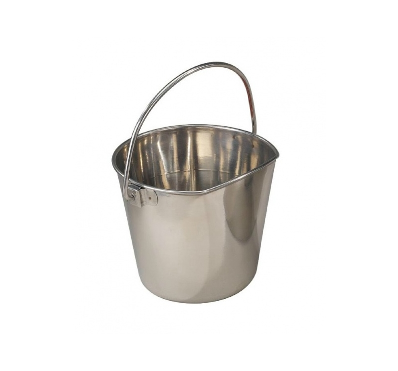 Bucket Stainless Steel with Carabiner 3780ml