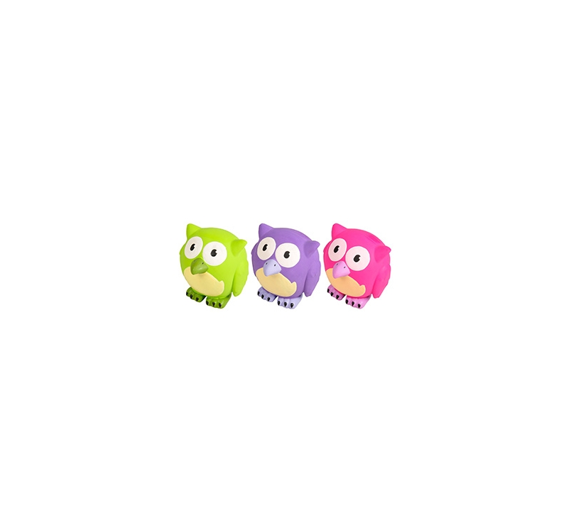 Latex Owl Toys for Dogs 10cm