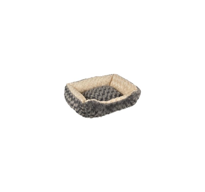 Bed Cuddly grey/Beige 50x40x15cm