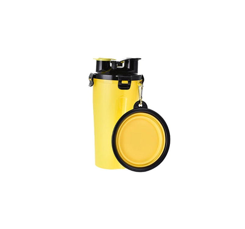 2 in 1 Food and Water Bottle with Travel Bowl 350ml+250g
