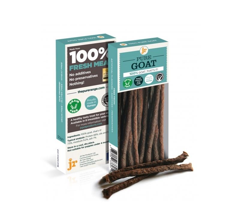 100% JR Pure Goat Treats 50g