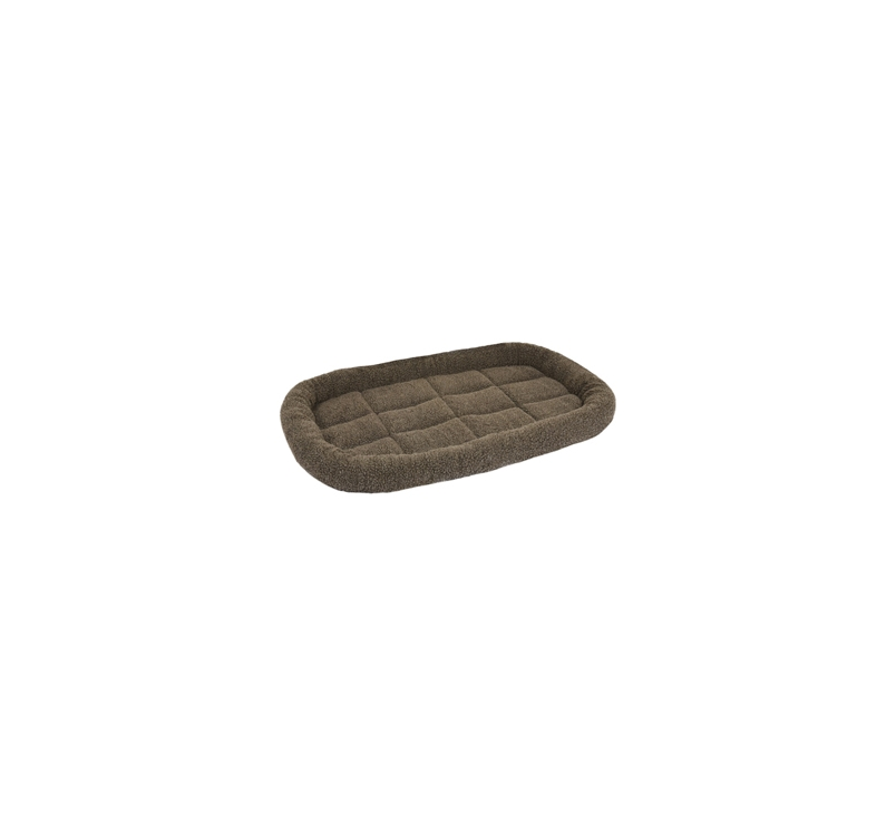 Dog Bed Sherpa Brown 100x63x8cm