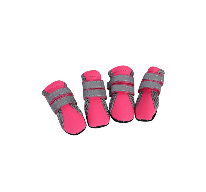 Small Dog Booties Pink M