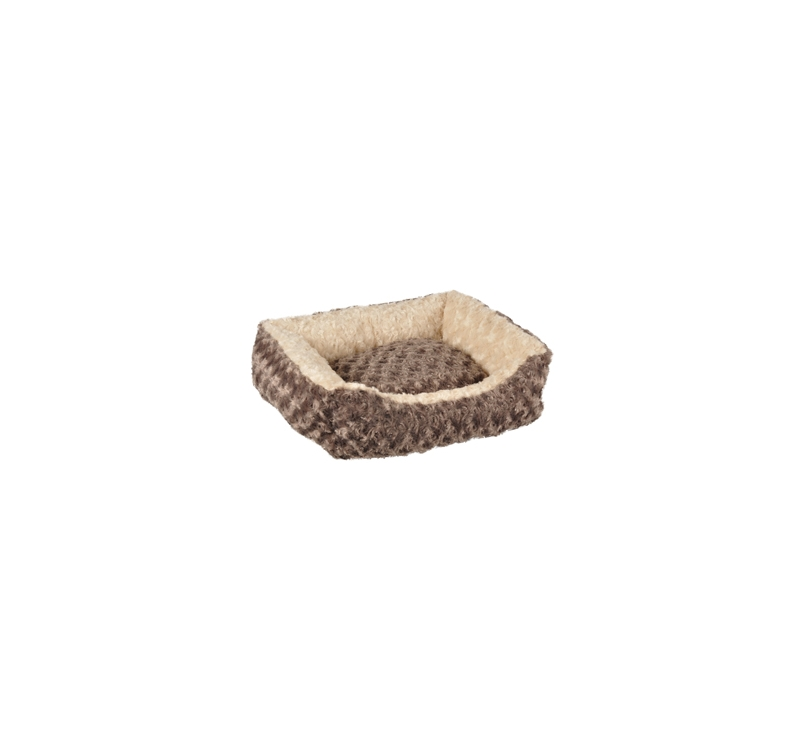 Dog Bed Cuddly Taupe 50x40x15cm
