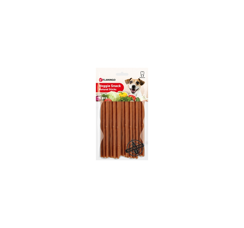 Veggie Rods for Dogs 12cm (6pcs)