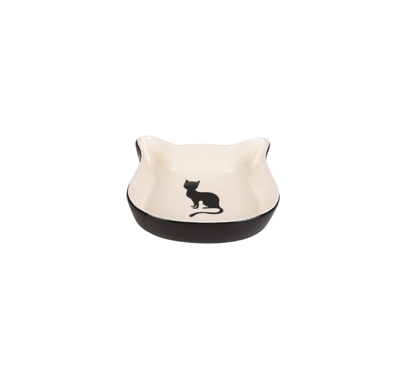 Ceramic Bowl Nala Duo Black/White ø12,5cm 220ml