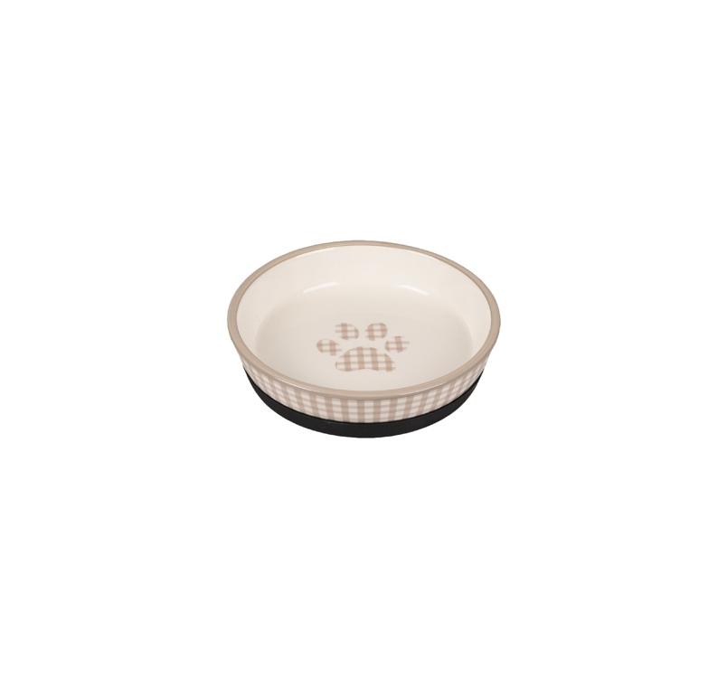 Ceramic Bowl Mylo Beige/White 14cm 220ml