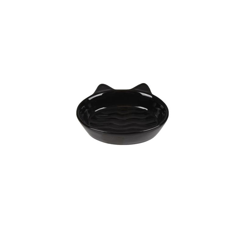 Ceramic Bowl Gizmo Black 13cm 170ml