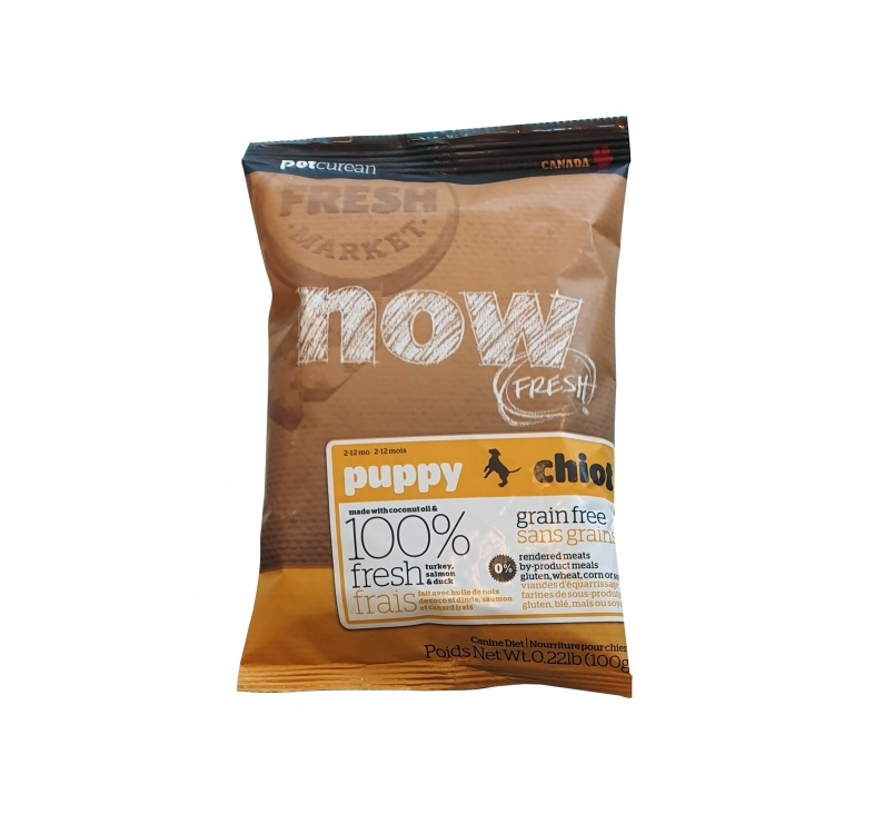 Tester Now Fresh Grain free Recipe for Puppies 100g