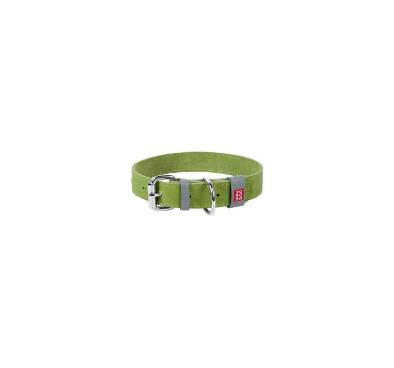 Кожаные ошейники для собак 25mm x 38-49см