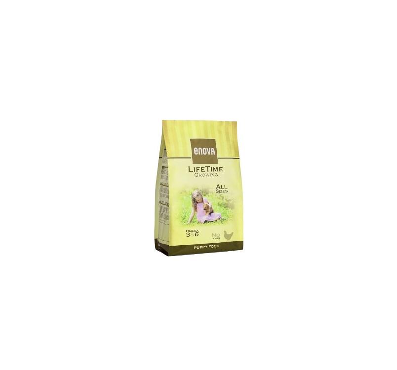 Enova Lifetime Growing Täissööt Kutsikale 2kg