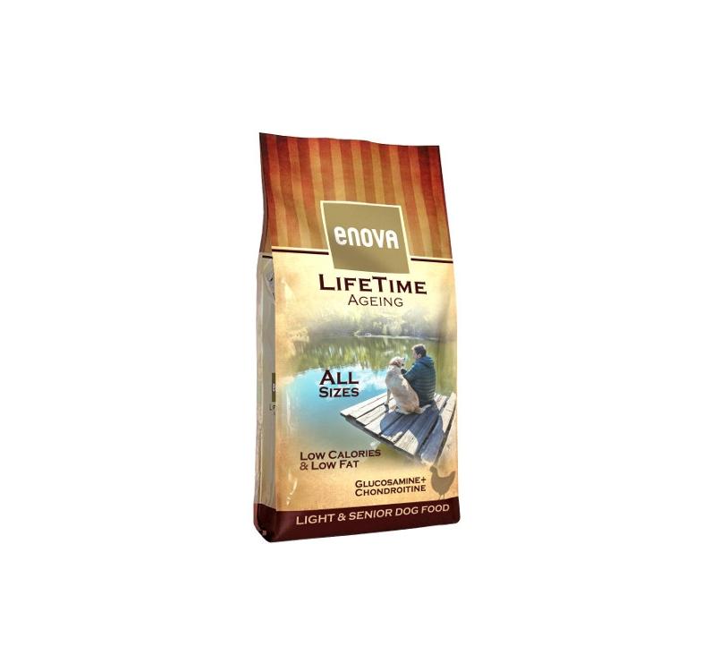 Enova Lifetime Ageing Täissööt Seenior/Ülekaalulisele Koerale 12kg
