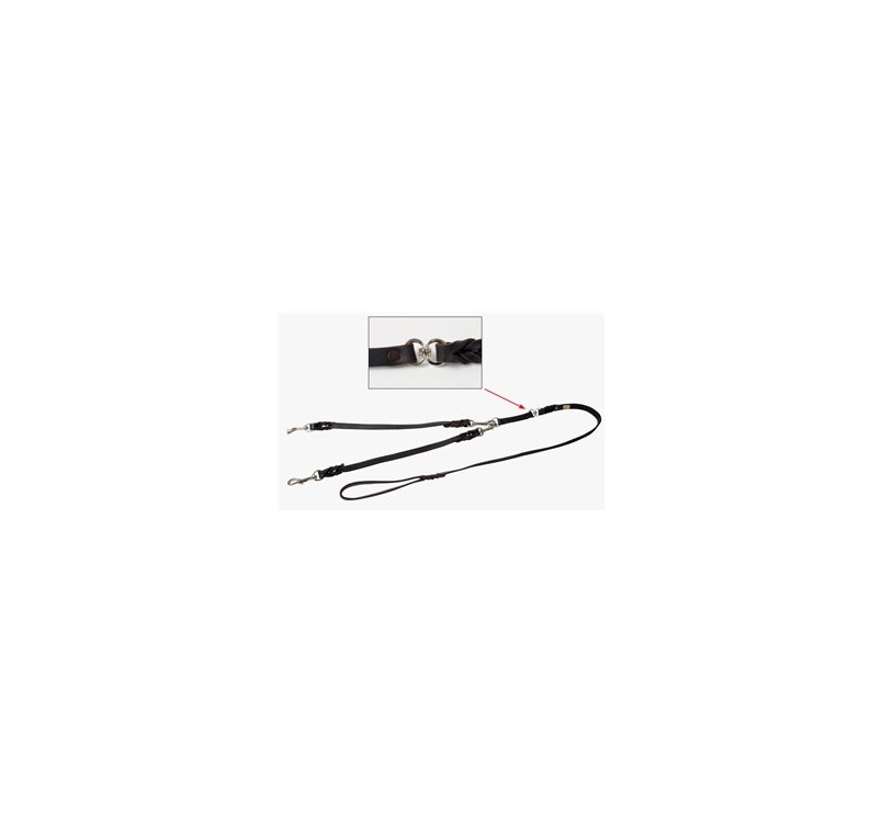 Klin Braided Coupled Leash 10mmx1m