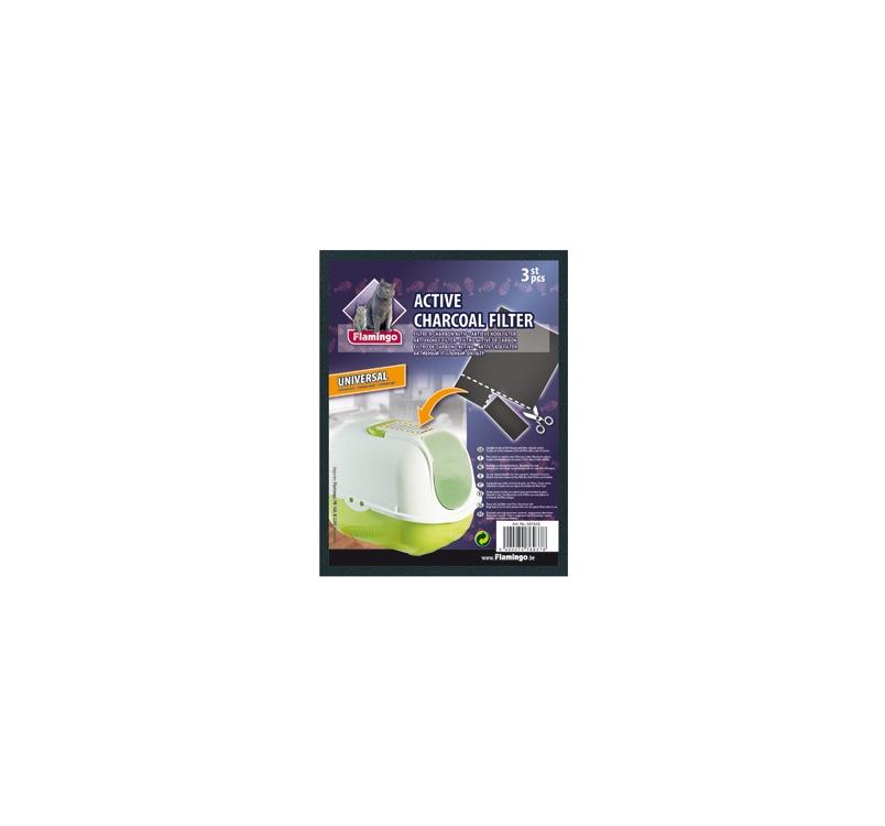 WC Aktiivsöe Filtrid 15x20cm (3tk)