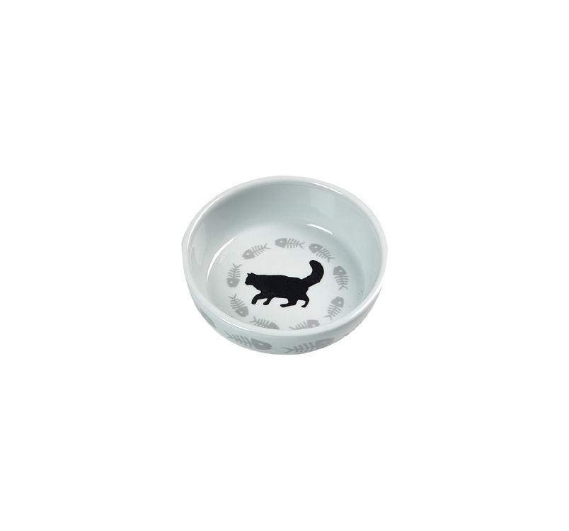 Ceramic Bowl Cats ⌀12cm