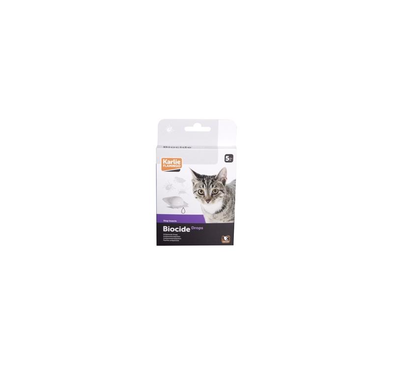 Biocide Drops for Cats 5pcs