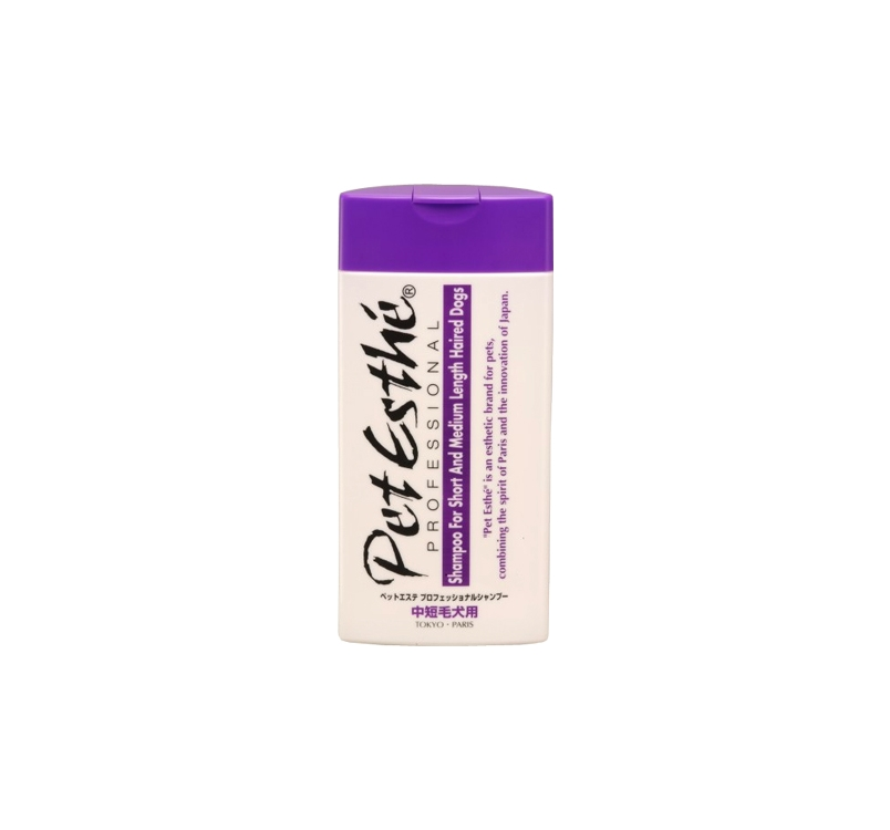 PetEsthé Professional Shampoo for Medium- and Short-Haired Dogs 200ml