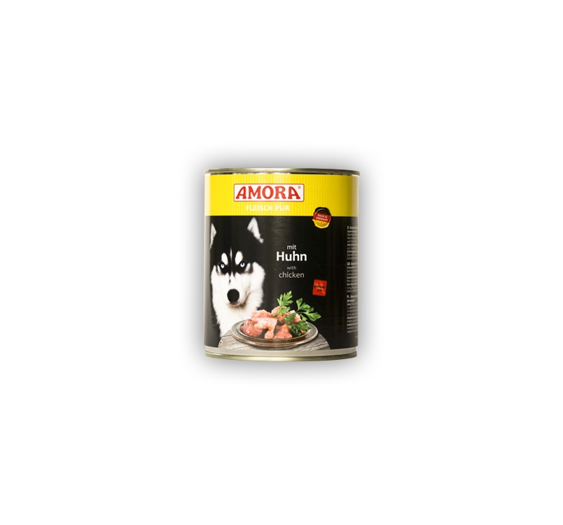 Amora Canned Dog Food (Chicken) 800g