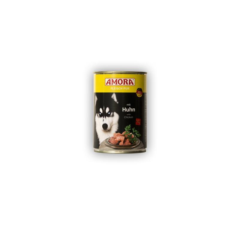 Amora Huhn Koerakonserv (Kanalihaga) 400g