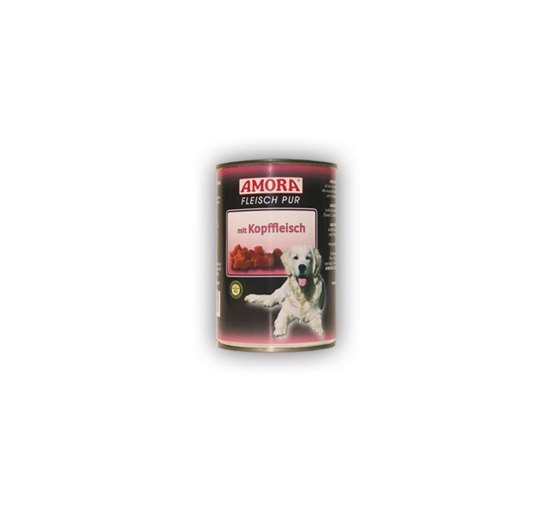 Amora Kopffleisch Koerakonserv (Veise pealihaga) 400g