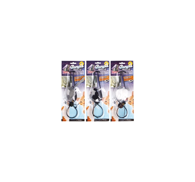 Cat Toy Mouse with Sound 6,5x4x3cm