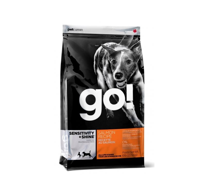 GO! Shine+Sensitivity Lõhekalaga Täissööt Koerale 2,72kg