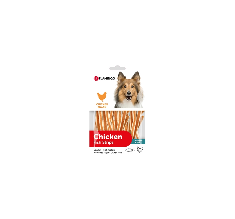 Chick'n Snack with Fish 85g