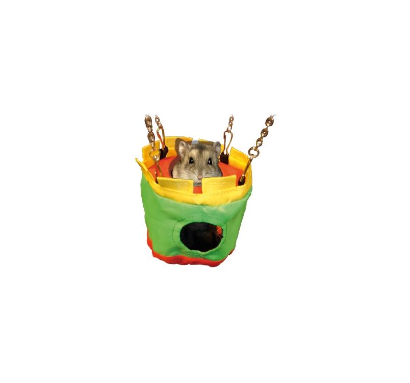 Hamster House Nylon 10x24,5cm