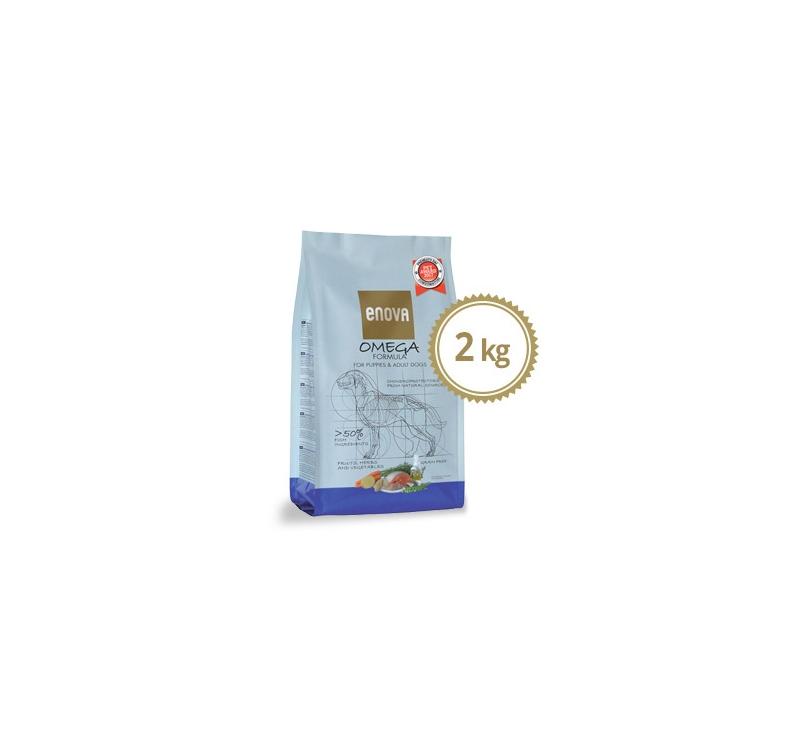 ENOVA Omega Formula Teraviljavaba Täissööt Koerale 2kg