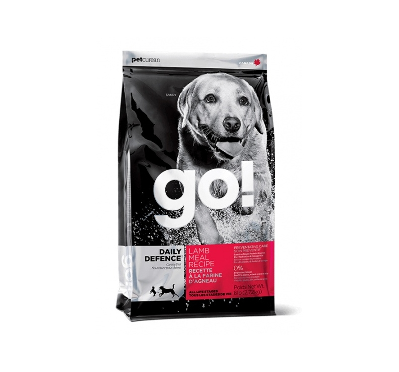GO! Daily Defence Täissööt Koerale Lambalihaga 2,72kg