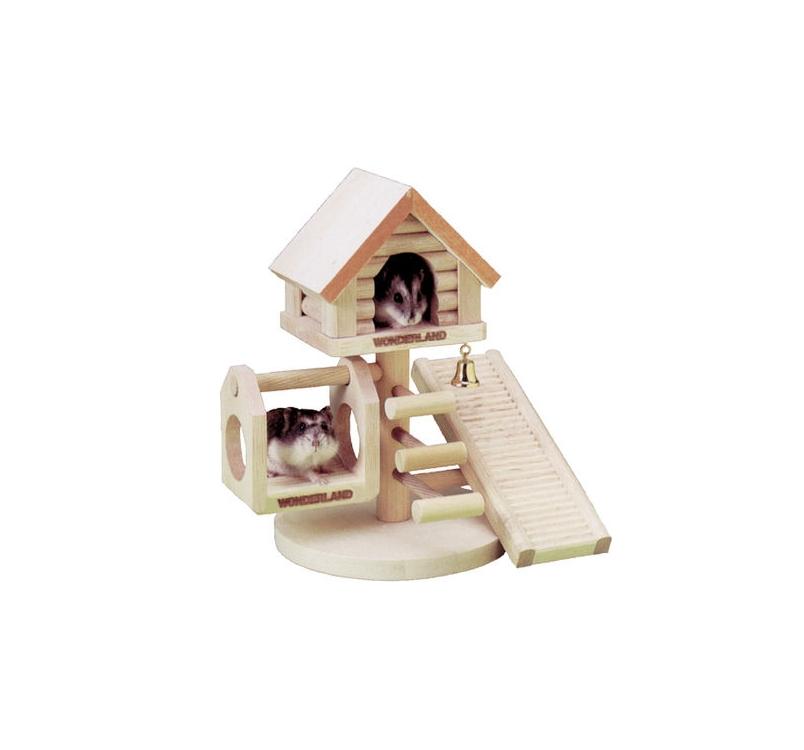 Rodent Wonderhouse 12x22x16cm